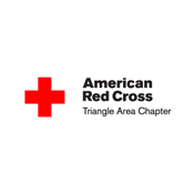 The American Red Cross Triangle Area Chapter logo